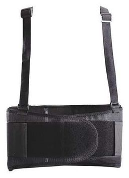 OCCUNOMIX 611-062 Back Support,S,Black, Mesh