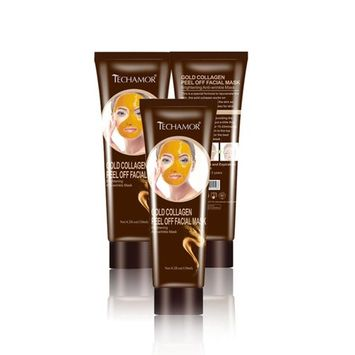 Blackhead Remover,OUBAO Gold Collagen Peel Blackhead Remover Off Facial Mask For Women