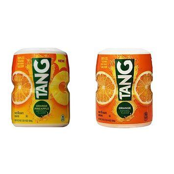 Orange Tang 20 Oz & Orange Pineapple Tang 20 Oz