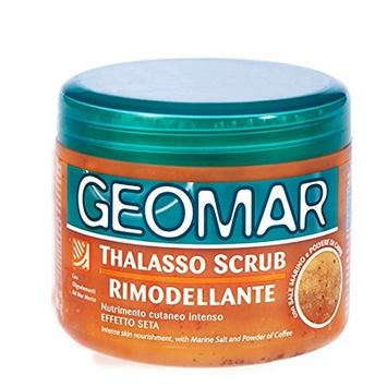 Geomar Thalasso Body Scrub 21.1oz / 600g (Remodeling) with Marine Sale and Coffee Powder