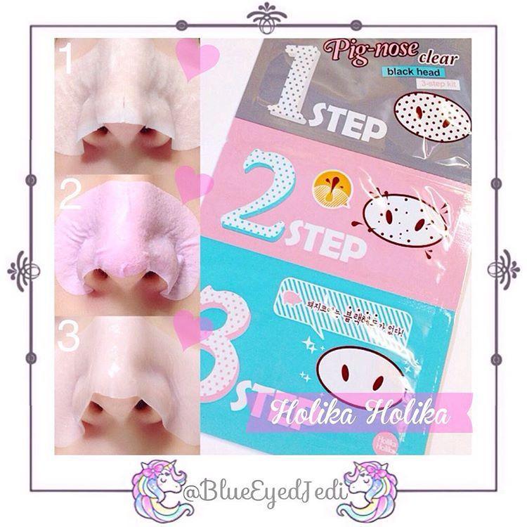Holika Holika Pig Nose Clear Black Head 3 Step Kit