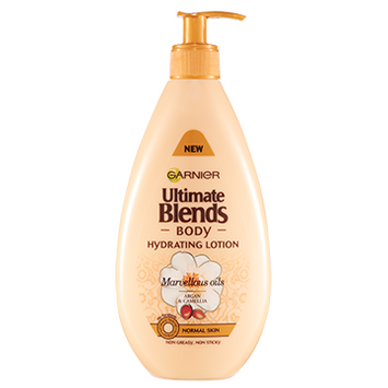 Garnier Ultimate Blends Body Marvellous Oils Hydrating Lotion