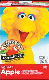 Apple & Eve® Sesame Street Big Bird's Apple