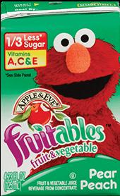 Apple & Eve® Sesame Street Fruitables Pear Peach