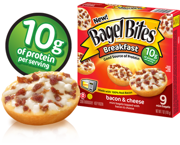 Bagel Bites Breakfast Bacon & Cheese