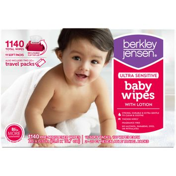 Berkley Jensen Ultra Sensitive Baby Wipes