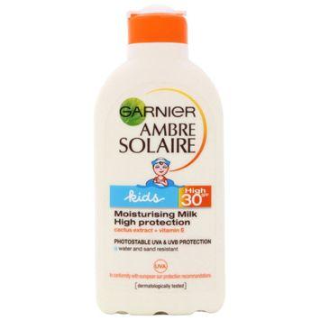 Garnier Ambre Solaire Kids SPF 30 Moisturising Milk