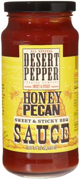 Desert Pepper Barbecue Sauce - Honey Pecan - 16 oz