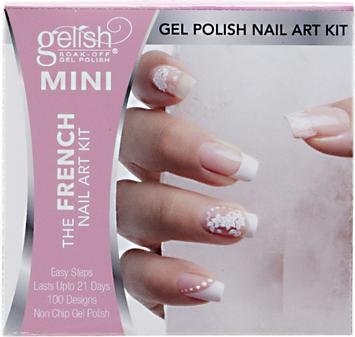 Gelish Mini French Manicure Nail Art Kit