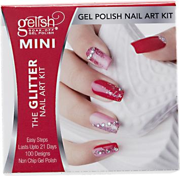Gelish MINI Glitter Nail Art Kit