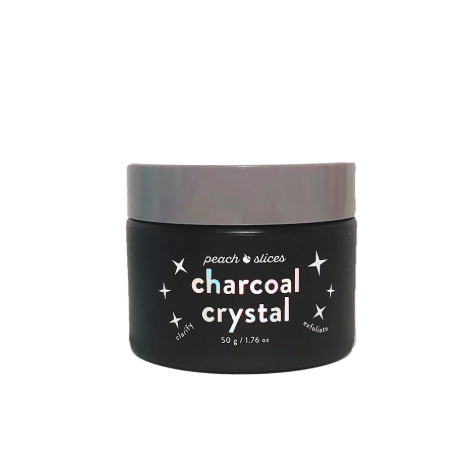 Peach Slices Charcoal Crystal Clarifying Shimmer Peel-Off Mask