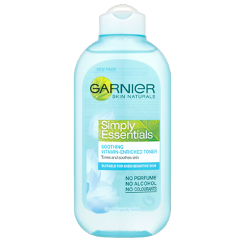 Garnier Skin Naturals Simply Essentials Soothing Vitamin-Enriched Toner