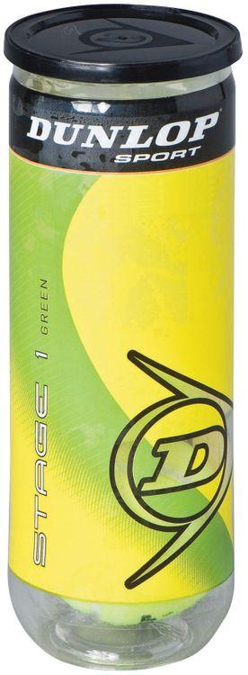 Dunlop Sports Stage 1 Green Tennis Balls