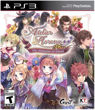 Koei Atelier Rorona Plus: The Alchemist - PS3