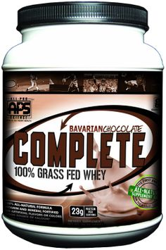 All Pro Science Complete All Pro Science, Complete 100% Grass Fed Protein, , 640-Grams, Bavarian Cho