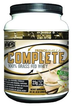 All Pro Science Complete All Pro Science, Complete 100% Grass Fed Protein, French Vanilla
