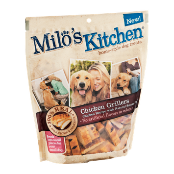 Milo's Kitchen Chicken Grillers Home-Style Dog Treats