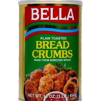 Bella Plain Bread Crumbs 16.0 OZ