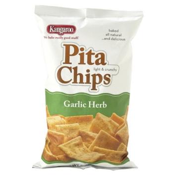 KANGAROO Kangaroo Garlic Herb Pita Chips 9 oz