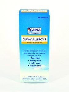 GUNA Biotherapeutics Guna-Allergy Treatment 30ml