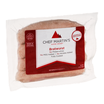 Chef Martin's Alpine Brand Bratwurst