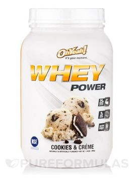 ISS Oh Yeah! Whey Power Cookies & Creme - 2 LBS.
