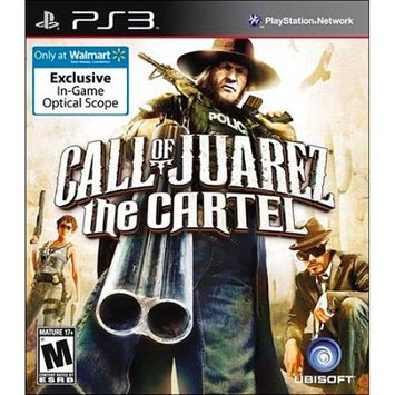 Ubisoft Call of Juarez: The Cartel w/ Exclusive Optical Scope (PS3)