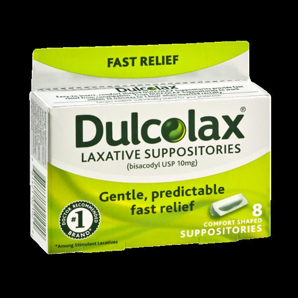 Dulcolax Laxative Suppositories