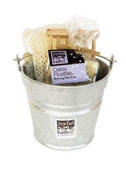 Joyful Bath Co Soap Gift Set, Relaxing Lavender Mix -Oatsy Floatsie, 1 set