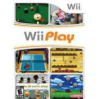 Nintendo Wii Play - Game Only