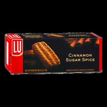 LU Cinnamon Sugar Spice European Biscuits