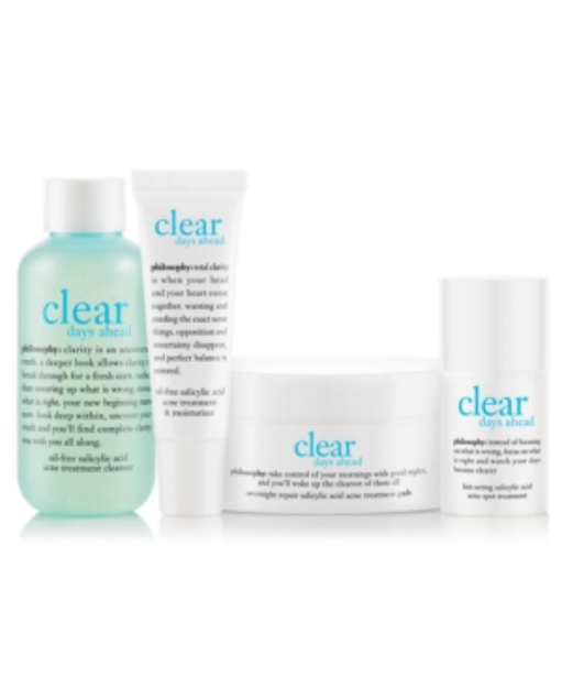 philosophy clear days ahead trial kit
