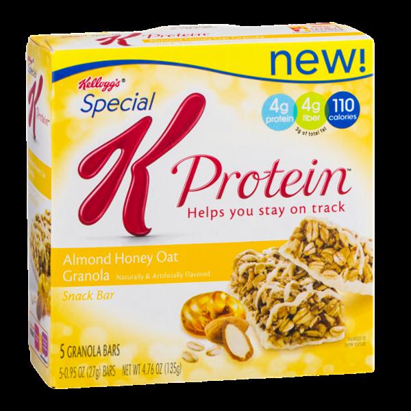 Special K® Kellogg's Protein Bars Almond Honey Oat Granola