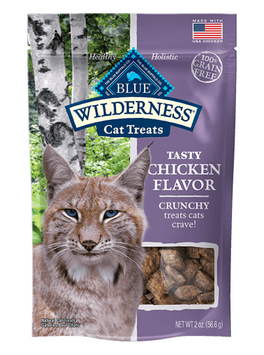 THE BLUE BUFFALO CO. BLUE™ WILDERNESS® Chicken Flavor Grain-Free Crunchy Cat Treats