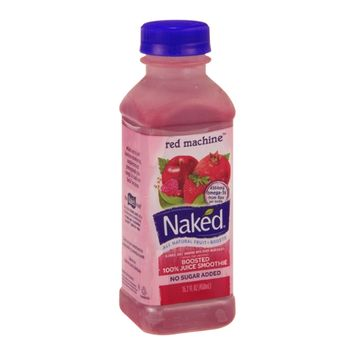 Naked Boosted 100% Juice Smoothie Red Machine