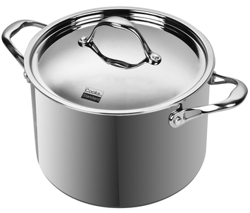 Neway International Neway NC00219 Multi-Ply Clad Stainless-Steel 8-Quart Covered Stockpot