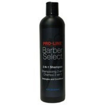 Pro-Line Barber Select 2-n-1 Shampoo 12 oz.