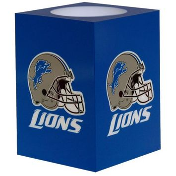 Northwest NFL - Detroit Lions 4x6 Flameless Candle
