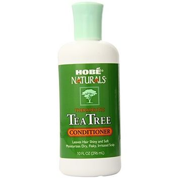 Hobe Naturals Tea Tree Conditioner, 10-Ounce (Pack of 2)