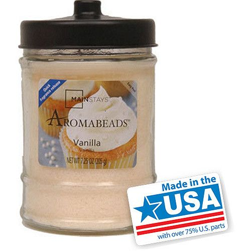 Mainstays 7.25-Ounce Aromabeads Candle, Vanilla