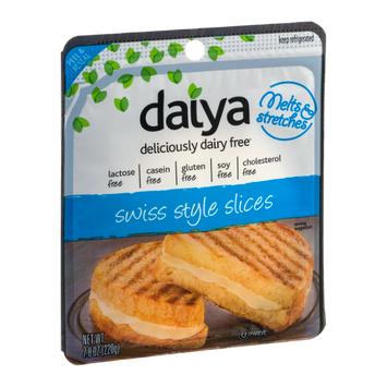 Daiya Swiss Style Slices Dairy Free