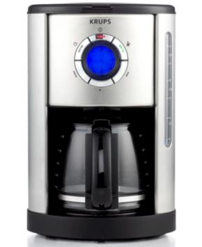 Krups KM740D50 Coffee Maker, Definitive Series Stainless Steel