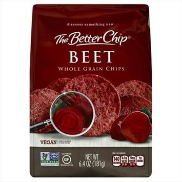 The Better Chip 6. 4 oz. Beet Whole Grain Chips - Case Of 12