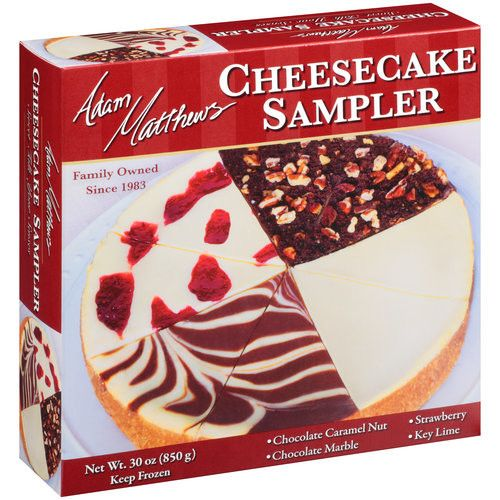 Adam Matthews Cheesecake Sampler, 30 oz