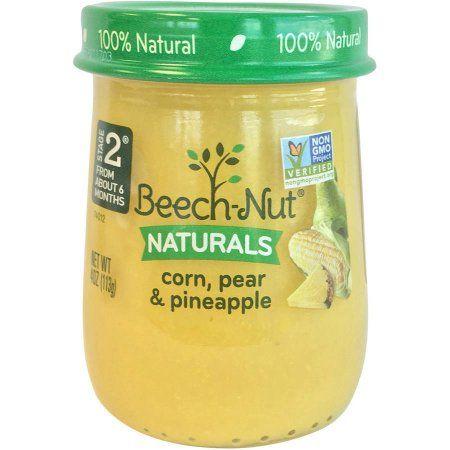 Beech-Nut® Stage 2 Corn, Pear & Pineapple