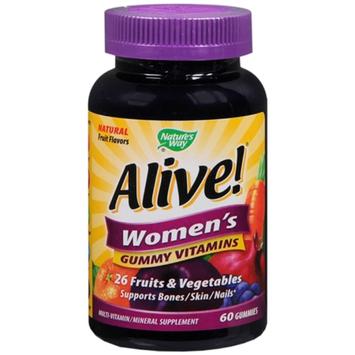 Nature's Way Alive! Multi Vitamin Gummy, 60 ea