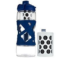 Aquasana Active Filtered Water Bottle with 2 Filters