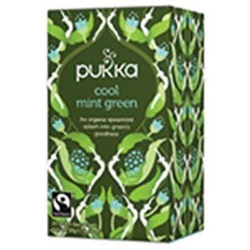 Pukka Herbs - Organic Herbal Tea Cool Mint Green - 20 Tea Bags