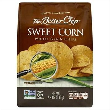 The Better Chip 6.4 oz. Sweet Corn Whole Grain Chips - Case Of 12