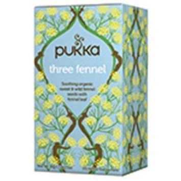 Pukka Herbs - Organic Herbal Tea Three Fennel - 20 Tea Bags